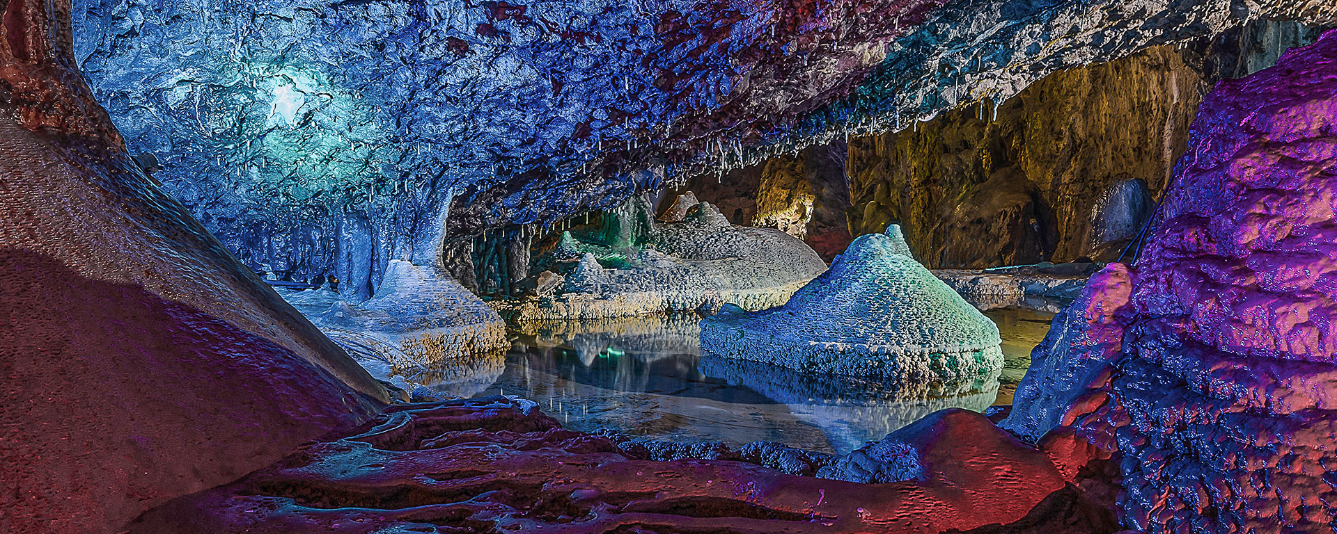 Wookey Hole Caves - Somerset, England